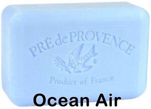 Pre de Provence OCEAN AIR French Soap 250 Gram XL Bath Shower Bar Shea Butter