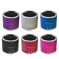 Mini PORTABLE WIRELESS Speaker FM Radio USB Micro SD TF Card MP3 Player MUSIC##