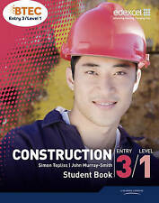 BTEC Entry 3/Level 1 Construction Student Book by Simon Topliss, John...
