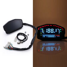 Neues AngebotUniversal Motorrad LCD Digital Hintergrundbeleuchtung Kilometerzähler Tachometer