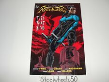 Nightwing Ties That Bind TPB DC Comics 1997 1st Print Dennis O'Neil Signed RARE
