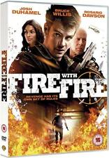 FIRE WITH FIRE (2011) DVD  BRUCE WILLIS / ROSARIO DAWSON  50 CENT  ACTION/CRIME