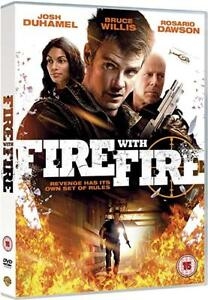 FIRE WITH FIRE (2011) Bruce Willis DVD Region 4 NEW/SEALED
