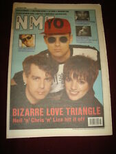 NME 1989 AUG 19 PET SHOP BOYS LIZA MINELLI DAVE STEWART LIGHTNING SEEDS REPTILE