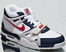 Nike Air Trainer 3 Men's Midnight Navy Red Athletic Lifestyle Sneakers Shoes