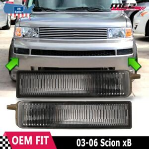 For Scion xB 2003-2006 Factory Replacement Fit Fog Lights + Switch Smoke Lens