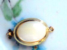Vintage HOBE Clasp MOP Pearl One Strand Bracelet 1 Strand Signed Mother #1015F