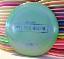 Discraft Paul McBeth Prototype Ti Esp Zeus Disc Golf Distance Driver Rare 172.7g