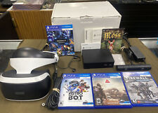 Sony PlayStation (CUH-ZVR2) - VR Headset w/ 3 Games Bundle....FREE S&H!!!