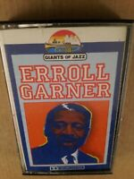 Erroll Garner : Giants Of Jazz : Vintage Cassette Tape Album From 1986