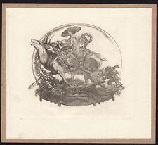 31)Nr.111- EXLIBRIS- Franz von Bayros - Akt / act