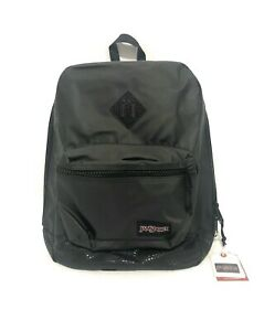 JanSport Super FX Black Stone Iridescent School Backpack