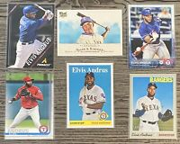 Elvis Andrus 6-CARD LOT including ROOKIE 2009 Topps Allen & Ginter's #89