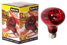 Reptile One Infrared Medium Globe Heat Lamp - 100w