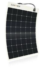 SunPower® 170 Watt Flexible Solar Panel. High Efficiency for Marine, RV, Camping