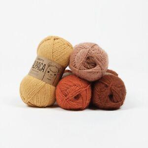 DROPS 100%Superfine Peruvian Alpaca 4ply yarn 53colours Luxury Knitting Wool 50g