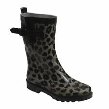 ea53f2cca722 Women s Leopard Rain Boots for sale