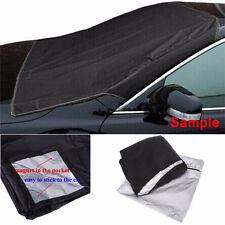 Car SUV Magnet Windshield Cover Sun Shield Snow Frost Freeze Protector Black TSU
