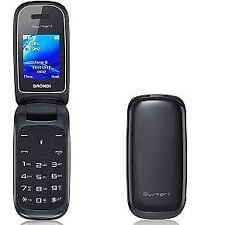 Telefono Cellulare Brondi Oysters Dual SIM Fotocamera con Flip Attivo Nero