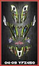 YFZ450 YFZ450R Yamaha CARBURATED SEMI CUSTOM GRAPHICS KIT Faast4