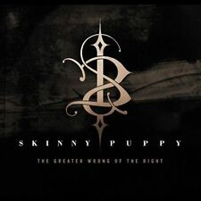 Skinny Puppy - The Greater Wrong of the Right [Digipak] (CD, May-2004, Synthetic