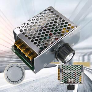 4000W 220V AC SCR Voltage Regulator Dimmer Motor Speed Controller Module Set^uk