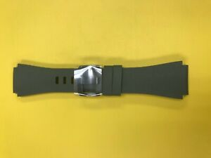OEM Samsung Gear S3 Frontier Smartwatch Watch Strap  Silicon Band Green Size: M