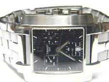 mens Tissot Chronograph Calendar Date Rectangle Tank watch L875/975 parts repair