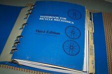 Sutherland's Handbook for Bicycle Mechanics(1980 ) Thrid Edition