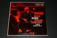 Gilels Reiner Chicago Symphony Brahms Concerto No. 2 RCA Victor - FAST SHIPPING