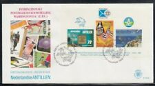 NETHERLANDS ANTILLES 20th UPU Congress FIRST DAY COVER