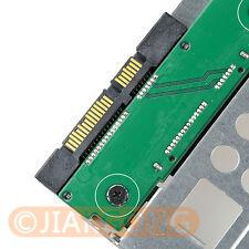 "2.5"" SSD to 3.5"" SATA Hard Disk Drive HDD Adapter CADDY TRAY CAGE Hot Swap Plug"