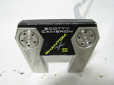 """Used RH Titleist Scotty Cameron Phantom X 5 35"""" Putter With Headcover"""
