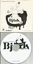 BJORK w/ BRODSKY QAURTET w/ LIVE & MIX & RARE TRK NEWSPAPER PROMO CD USA Seller