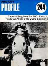 AERONAUTICA AIRCRAFT Publications Profile 244 - Caproni Reggiane RE2001 & C  DVD