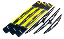 Fister Front & Rear Window Windscreen Wiper Blades Made by Trico (FT18/18/16)