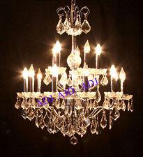 Palace Bay 15 light Crystal Chandelier light Gold-Precio Mayorista