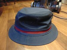 Blue with red stripes Kangol fishing hat Made in USA-Excellent Condition