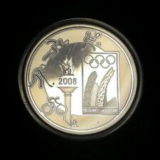 10 euro € 2008 Olympische Spelen Belgique Belgïe + Box LA#BEM-11.13