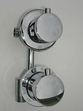 SHOWER DIVERTER, 3 WAY, THERMOSTATIC MIXER VALVE TAP, ALL METAL & CHROME, 079N