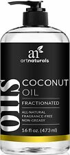 ArtNaturals Fractionated Coconut Oil, 100% Natural and Pure, Best Carrier/Massag