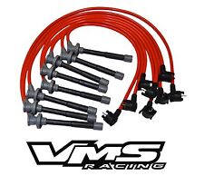 VMS RACING 96-98 FORD MUSTANG SVT COBRA 10.2MM SPARK PLUG WIRE SET 4.6L DOHC RED