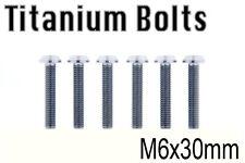 x6 New Pro Titanium Bolt M6x30mm Taper T30 Head M6 30L Bicycle Cycling Taiwan