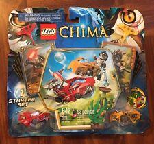 LEGO CHIMA 70113 Chi Battles *1 STARTER SET * Longtooth Wakl MINIFIGURES & CARDS