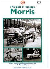 BEST OF VINTAGE MORRIS DVD. 6 Films 1924-1937. 81 Min App. MOTORFILMS HMFDVD5008