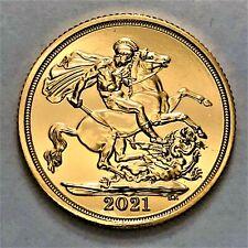 More details for 2021 gold full sovereign elizabeth ii fifth head