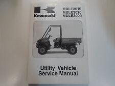2001 2002 Kawasaki Mule 3010 3020 3000 Utility Service Shop Repair Manual NEW