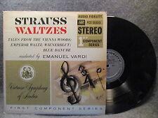 33 RPM LP Record Virtuoso Symphony Of London Strauss Waltzes FCS 50013