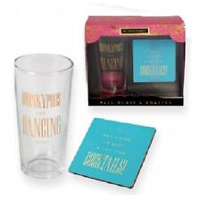 DRINKYPOOS & DANCING SHOES By Appointment TALL GLASS & COASTER GIFT SET
