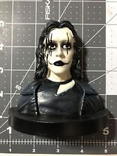 """The Crow 4"""" Half Bust Fright Crate February 2021 Horror Sculpt Serial Resin Co."""